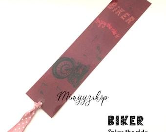 Bikers bookmarks