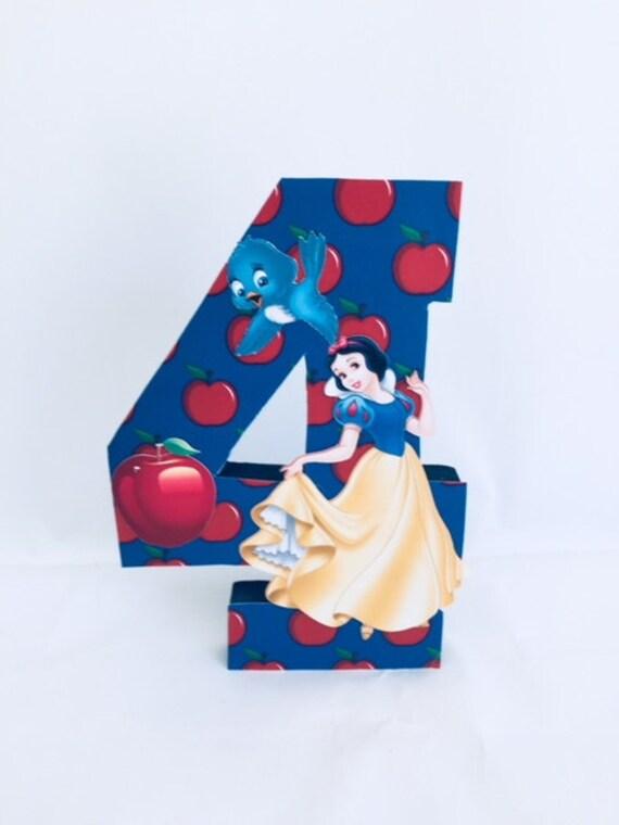 Snow White Birthday Number