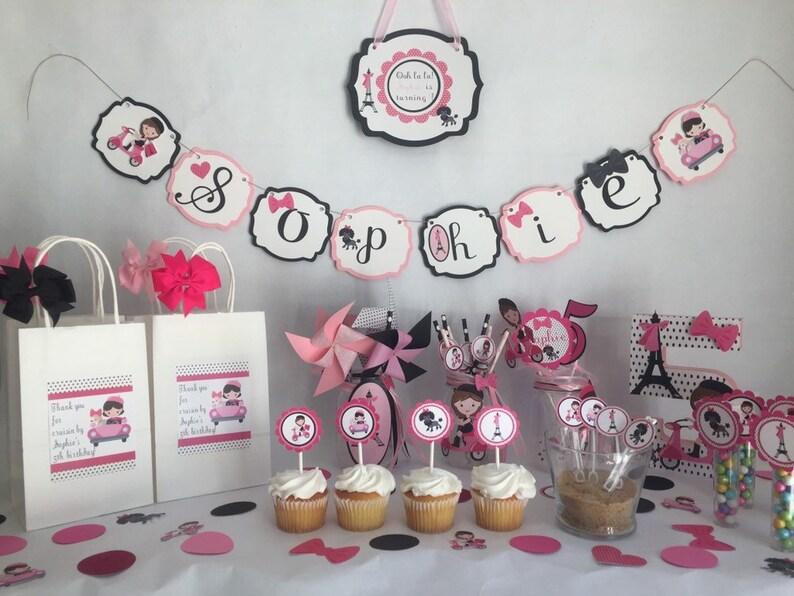 Paris Theme Birthday Candy Favor Wands Paris Party Favors Paris Birthday Party