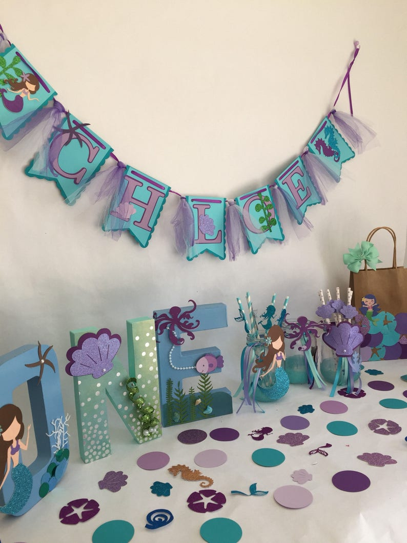 Mermaid Party In A Box Birthday Decorations