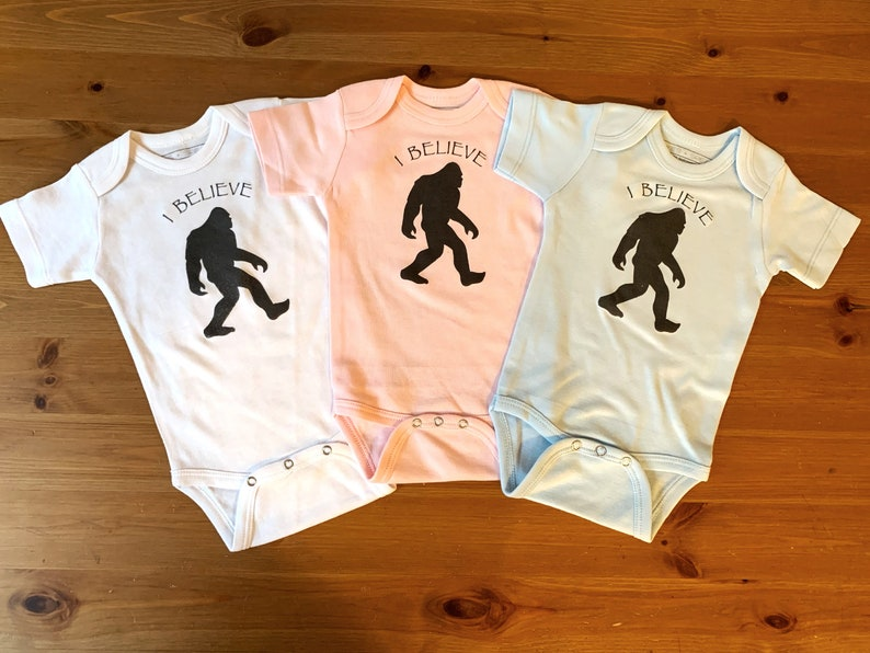 91cbdca8a522 I Believe Bodysuit Baby Clothes Hipster Baby Baby Shower