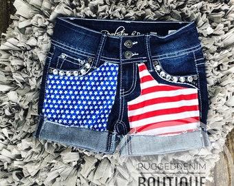 5fa4b43cfc July 4th shorts / patriotic shorts / american flag shorts