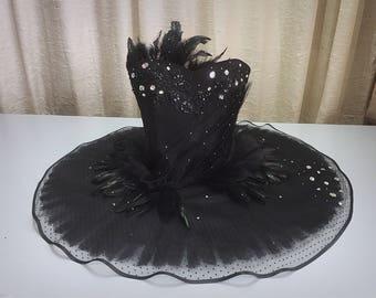 Black swan cosplay costume