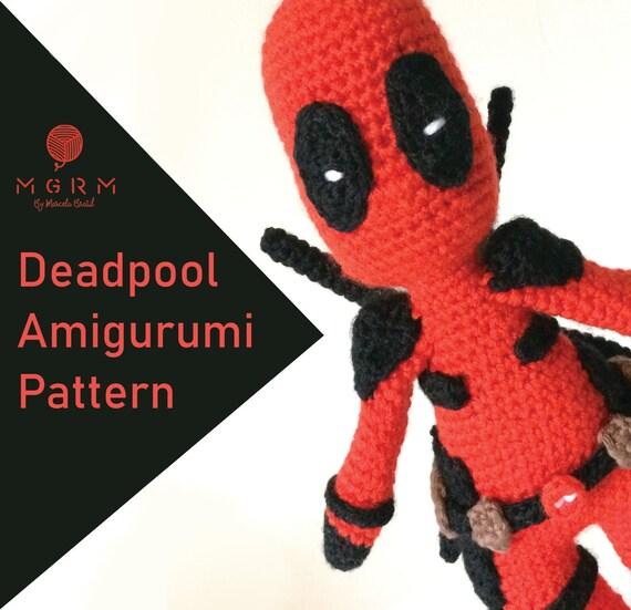 Free Crochet Pattern - DeadPool - Jucarie Crosetata in 2020 ... | 551x570