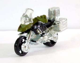 bmw r1200 gs police bike motorbike motorcycle matchbox ornament christmas ornament gift for bettybeadsstore