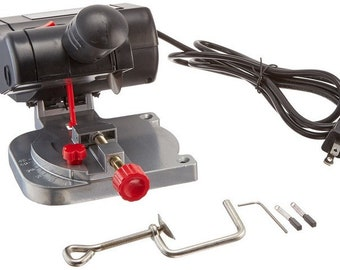 Saw, Mini Miter Saw, Electric Saw Cuts Plastic, Steel, Brass, Metal, Wood, No sanding needed, BettyBeadsStore