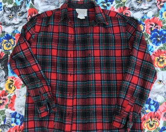 vintage Pendleton flannel S/M made in USA
