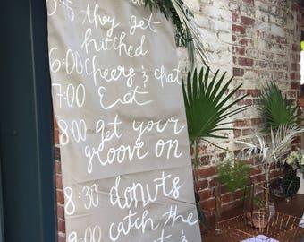 Wedding Decor Signage