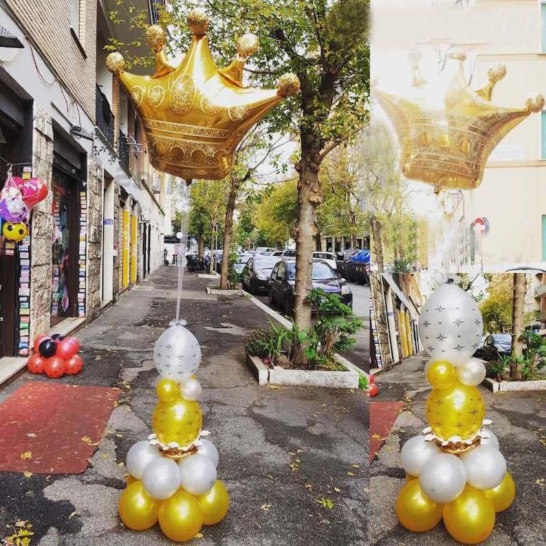 Kral Taç Balon Bekarlığa Veda Partisi Dekoru Fotoğraf Kabini resim 3