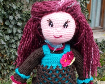 CROCHET pdf tutorial: Betty doll