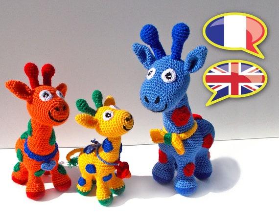 Patrón crochet Jirafa, Amigurumi Jirafa pdf tutorial - DOLORES la ... | 452x570