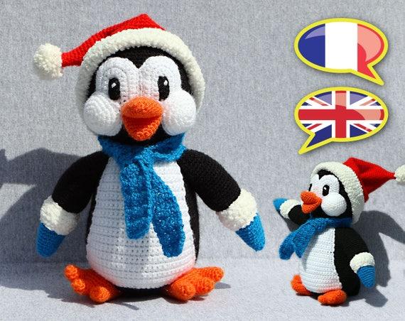 Modell Anleitung Häkeln Kleinen Pinguin Weihnachten Winter Etsy