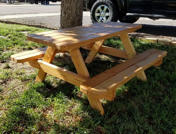 48 Kids Teen Size Small Picnic Table Plan Step By Step Video Guide Childrens Outdoor Patio Furniture Simple Wood Project Dimensions