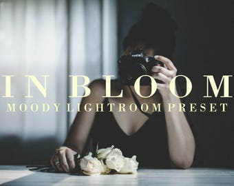 In Bloom | Lightroom Preset, Moody Presets, Wedding Lightroom Presets