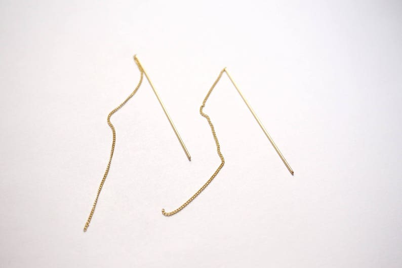 Gold plated earwires 128 0.8 mm \u00d7 2