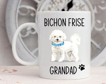 Add Name and Text Keep Calm and Hug a Bichon Frise Cup Bichon Frise Mug Personalised Gift