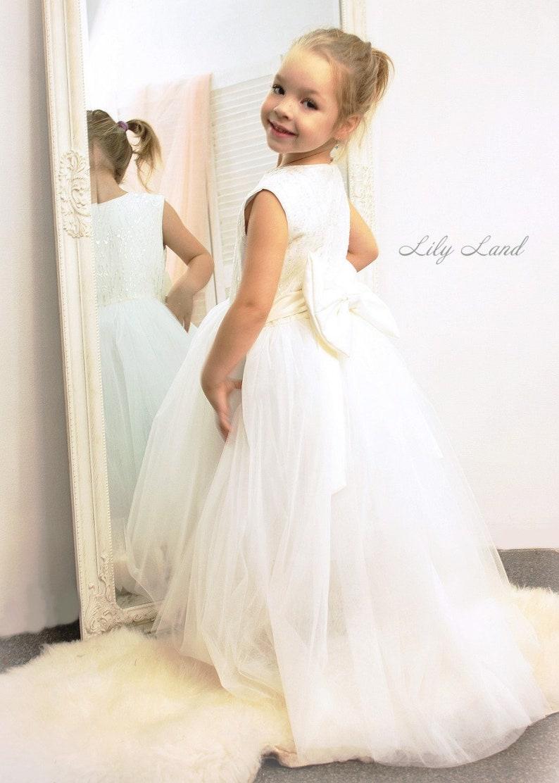 ivory flower girl rustic flower girl ivory lace dress floor length dress ivory tutu dress flower girl tulle flower girl white tutu dress