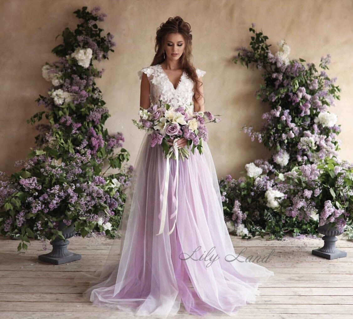 28bf7e53104 Long maternity dress lavender maternity baby shower dress