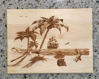 Pirate Cove Plaque - Free Shipping