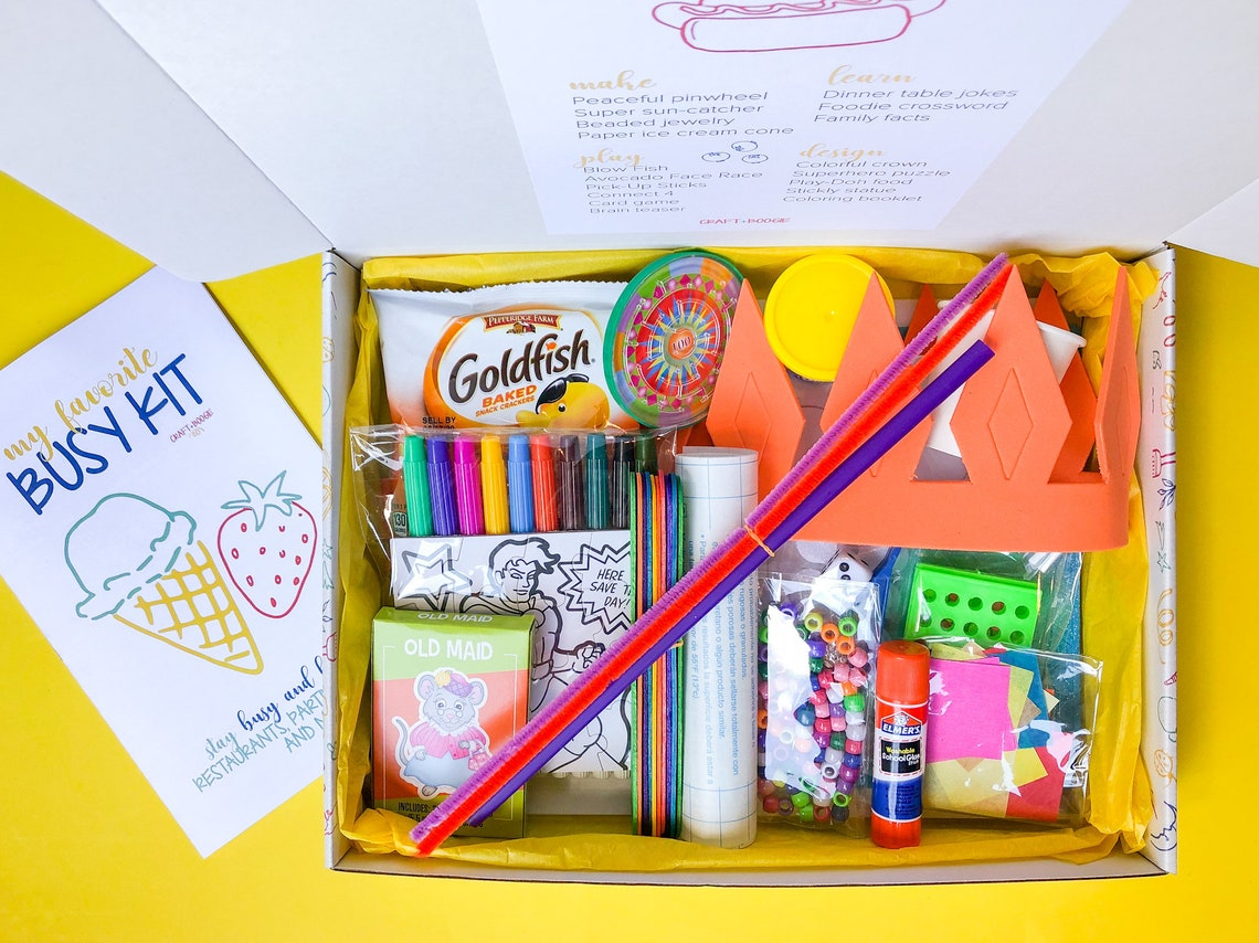 Busy Kit for Kids 3-8 years