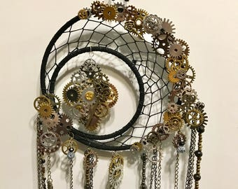 Fully Loaded Steampunk Dream Catcher