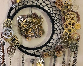 Custom Steampunk Dream Catcher