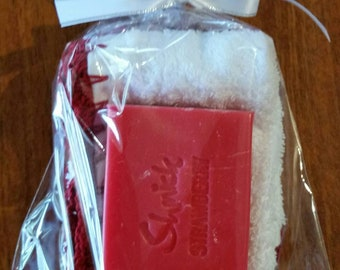 Face Washer &Soap Gift Pack