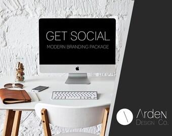 GET SOCIAL - Branding Package - Modern Branding Package