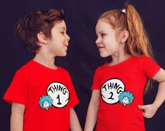 Dr. Seuss Family matching T-shirts..!