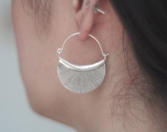 Hill Tribe Silver earrings, Hilltribe earrings. Ethnic Jewelry, Silver earrings, Silver jewelry, Ethnic earrings, gift for her