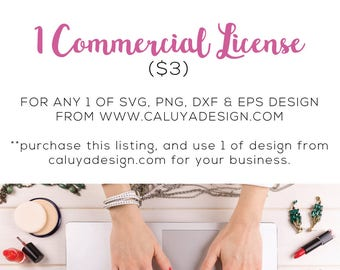 ALL Special Deal Listed | Commercial License for SVG cut file from caluyadesign.com