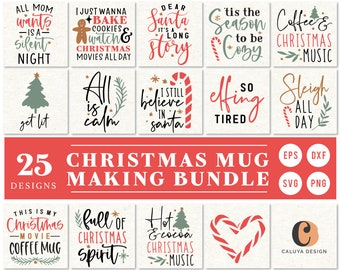 Christmas Quotes Svg Etsy