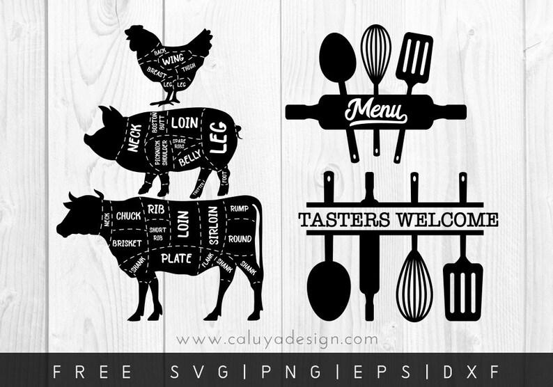 FREE SVG amp PNG Link Vintage Kitchen Cut Files svg png Etsy