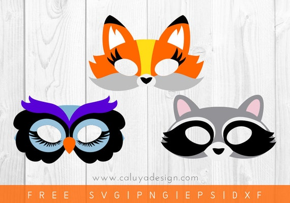 Free Svg Png Link Forest Animal Mask Cut Files Svg Png Etsy