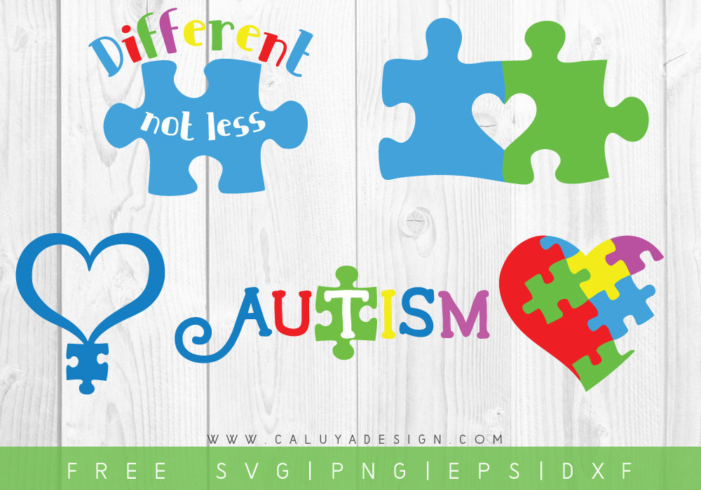 Free Svg Png Link Autism Awareness Cut Files Svg Png Etsy