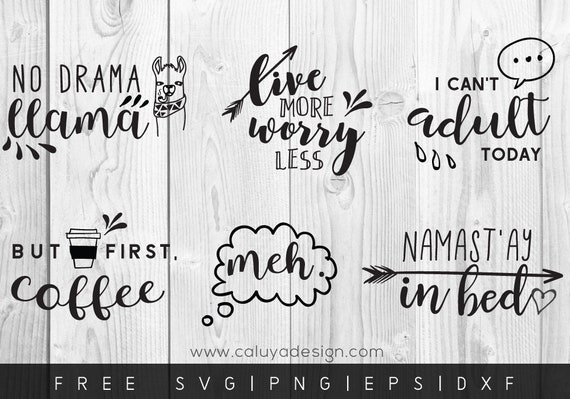 Free Svg Png Link Funny Quote Cut File Svg Png Dxf Eps Etsy