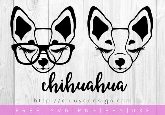 Free Svg Png Link Chihuahua Cut Files Svg Png Dxf Eps Etsy