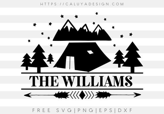 Free Svg Png Link Camp Family Sign Cut Files Svg Png Etsy