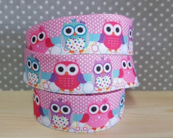 1 meter of Ribbon grosgrain owls too sprouts!