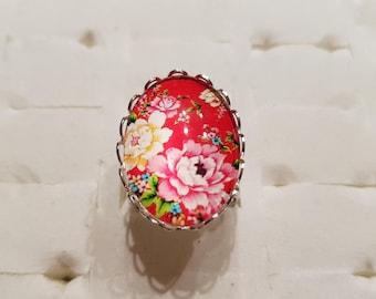 Printemeps flowers ring