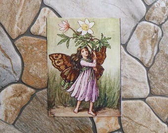 Patchwork fairy fabric coupon