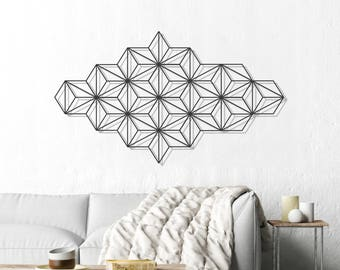 Harmony Wall Art, Metal Wall Art, Modern Wall Art, Black Wall Hanging,
