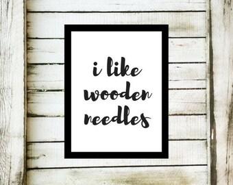 Knitting Print, Knit Art, Knitting Decor, Digital Knit Print, Knitting Print Download, Art Print, Digital Knit Art, Knitter Gift, Knit Print