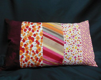 """Collection """"lemonade"""", rectangle Cushion cover, 5 bands (C317R)"""