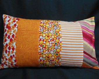 """Collection """"lemonade"""", rectangle Cushion cover, 5 bands (C312R)"""