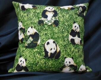 Pillow cover pet pandas