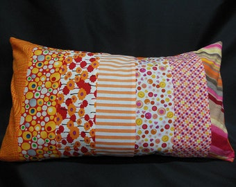 """Collection """"lemonade"""", rectangle Cushion cover, 7 bands (C315R)"""