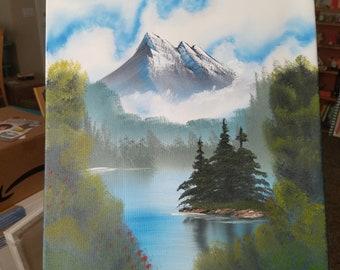 Mystic Mountain 16x20 (Bob Ross Inspired)