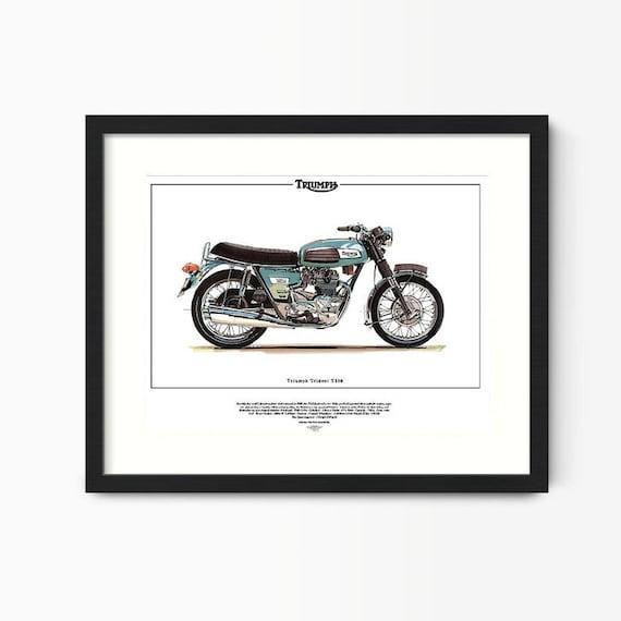 Italian made 1970/'s motorbike MV AGUSTA 750S AMERICA  Superbike Fine Art Print