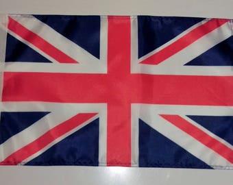 """UNION JACK FLAG - 45cm x 30cm - 18"""" x 12"""""""